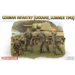 German infantry, Ukraine 1943.