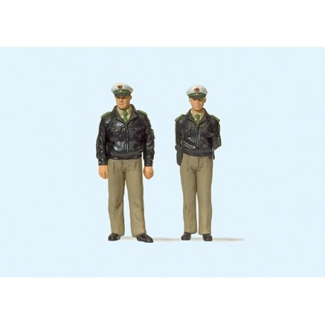 Police officers. PREISER 63100
