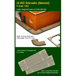 Sidewalks, diamond. PROSES LS-020