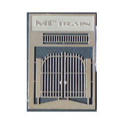 Puerta de doble hoja. MFTRAIN 83015