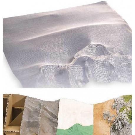 Malla metálica para hacer montañas. BUSCH 7179