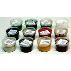 Weathering powder set of 12 colors.
