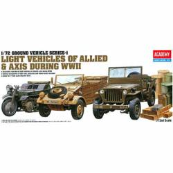 Light vehicles of allied. ACADEMY 13416