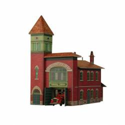 Fire station. CLEVER PAPER 319