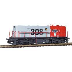 """Locomotora diesel 308-027, """"Cargas Renfe""""."""