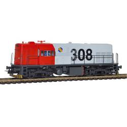 Diesel locomotive 308-019, RENFE.