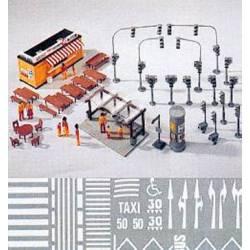 Town accesories set.