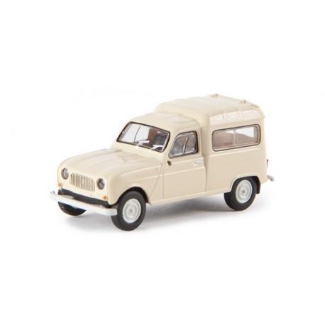 Renault R4 Van. Beige. BREKINA 14708