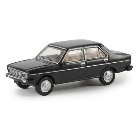 Fiat 131, black. BREKINA 22607