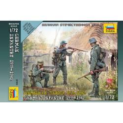 German infantry. ZVEZDA 6105