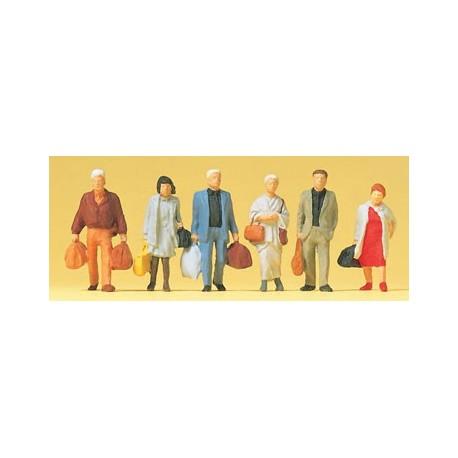 Viajeros con equipaje. PREISER 14070