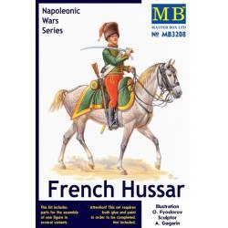 French Hussar. Napoleonic Wars. MASTER BOX 3208
