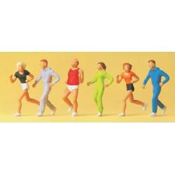 Gente haciendo deporte. PREISER 14078