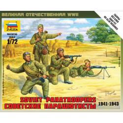Soviet paratroopers. 1941-43. ZVEZDA 6138