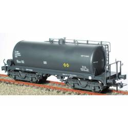 Cisterna de bogies gris RR-310091, RENFE. KTRAIN 0714B