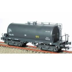 Cisterna de bogies gris RR-310049, RENFE.