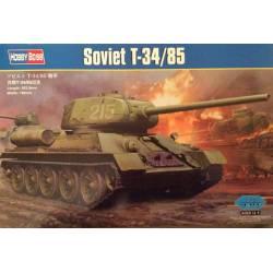 Tanque soviético T-34/85. HOBBY BOSS 82602