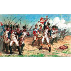 French Line Infantry 1812-1814. ZVEZDA 6802