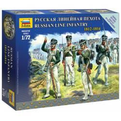 Russian Line Infantry 1812-1814. ZVEZDA 6808