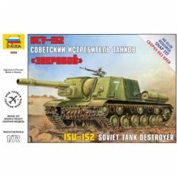 Soviet self-propelled gun ISU-152.
