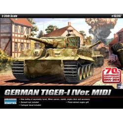 German Tiger I, Version MID. ACADEMY 13287