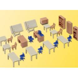 Deco set office furniture. KIBRI 38655