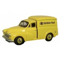 Morris 1000 van British Rail, yellow. OXFORD NMM030