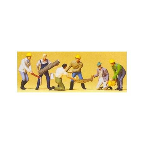 Lumber jacks. PREISER 10042