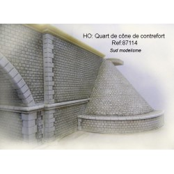 Cone for embankments. PN SUD MODELISME 87114