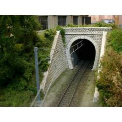 Tunnel entrance, single track. PN SUD MODELISME 8715