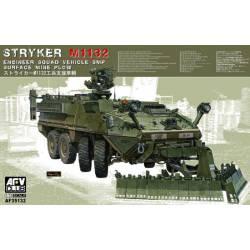 M1132 Stryker ESV, w/ mine plow. AFV CLUB 35132