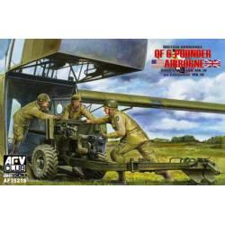 British Ordnance QF- 6 Pounder airborne. AFV CLUB 35219