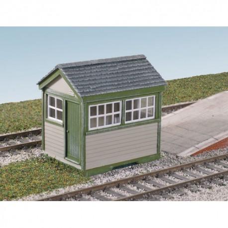 Ground level signal box. WILLS SS29