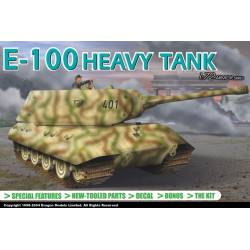 E-100 heavy tank. DRAGON 7256