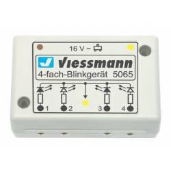Indicating unit for warning lights. VIESSMANN 5065