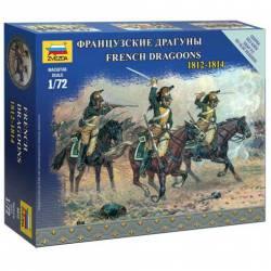 French dragoons. ZVEZDA 6812