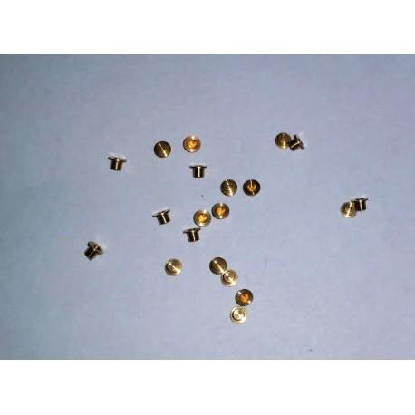 Casquillos de latón torneado (x8). ETM13001
