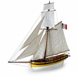 Le Renard. Cotre Corsaire.