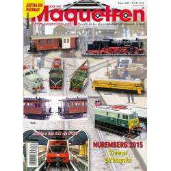 Revista Maquetren, nº 265. Marzo 2015