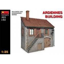"""Edificio """"Ardennes"""". MINIART 35515"""