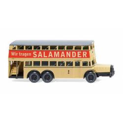 "Berlin double-decker bus D 38 ""Salamander""."