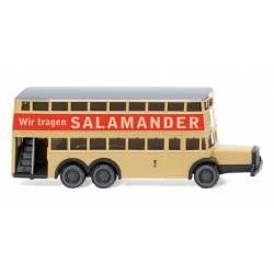 "Berlin double-decker bus D 38 ""Salamander"". WIKING 097303"