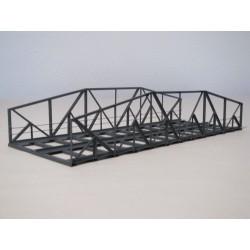 Puente de hierro, doble vía. HACK BRUCKEN VB30-2