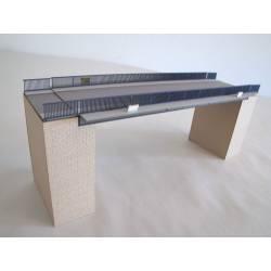 Puente con pilares. HACK BRUCKEN LT32