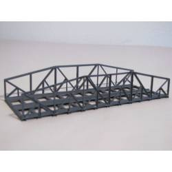 Puente metálico, doble vía. HACK BRUCKEN VN15-2