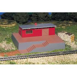 Building with Steam Whistle. BACHMANN 46209