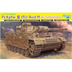 Pz.Kpfw.III (FL) Ausf.M w/schurzen.