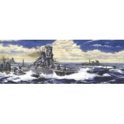 Acorazado Yamato, IJN. The Battle of Reite Coast. FUJIMI 42133