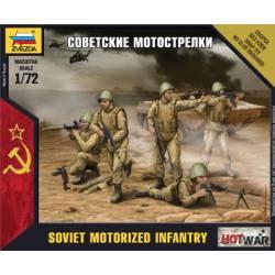 Soviet motorized infantry. ZVEZDA 7404