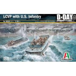 LCVP with US infantry.